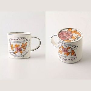 Anthropology Molly Hatch Mug Tea Cup Print